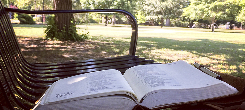 bible-on-bench